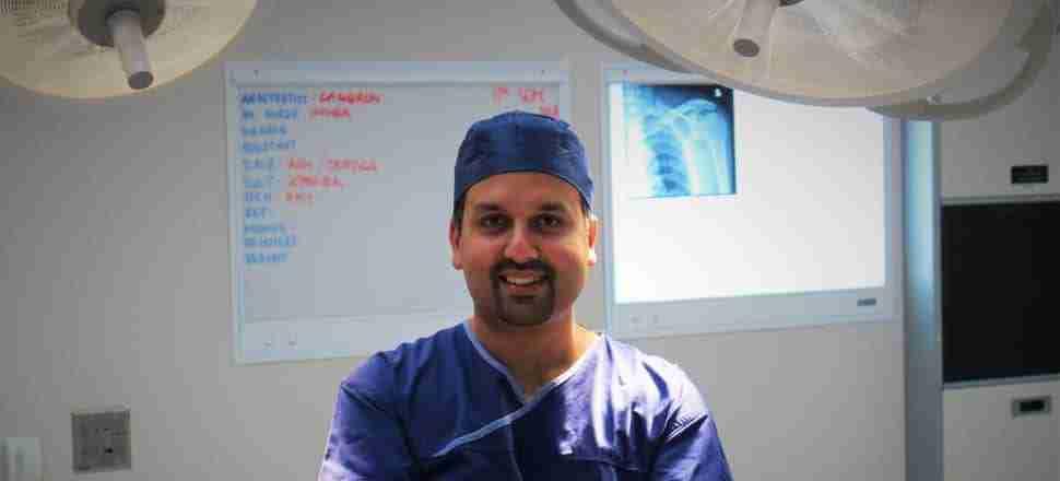 devinder garewal shoulder surgeon